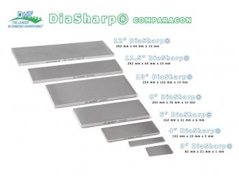 "D3C-3""x2"" Piedra de afilar grano 325 diamante DMT DiaSharp D3C-2."