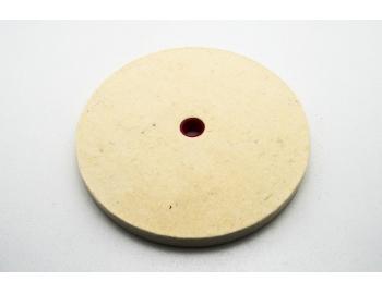 08M40.01-Disco pulir joyeria oro, bronce, cobre, aluminio dureza 5, 12mm, Veritas 08M40.01-1.