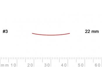 3/22-3/22, Pfeil, Gubia Recta corte 3, 22mm, semiplana-1.