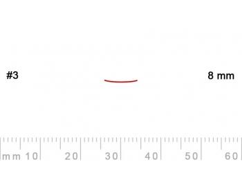 3/8-3/8, Pfeil, Gubia Recta corte 3, 8mm, semiplana-1.