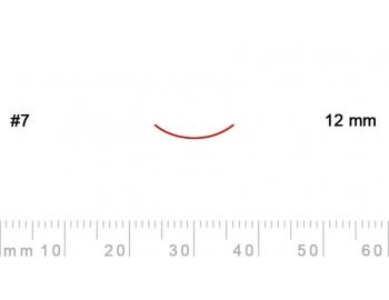 7/12-7/12, Pfeil, Gubia Recta corte 7, 12mm, curvada-1.