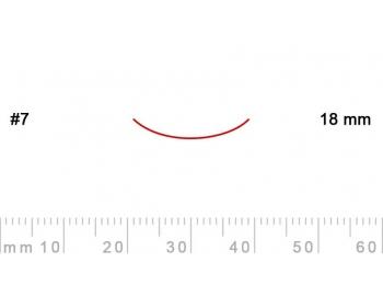 7/18-7/18, Pfeil, Gubia Recta corte 7, 18mm, curvada-1.