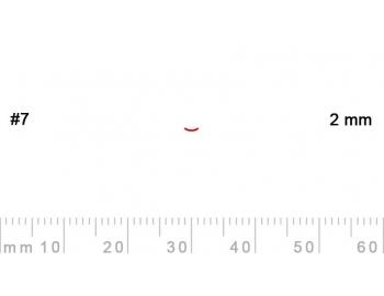 7/2-7/2, Pfeil, Gubia Recta corte 7, 2mm, curvada-1.
