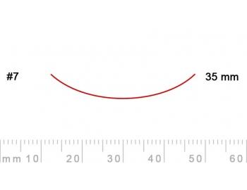 7/35-7/35, Pfeil, Gubia Recta corte 7, 35mm, curvada-1.