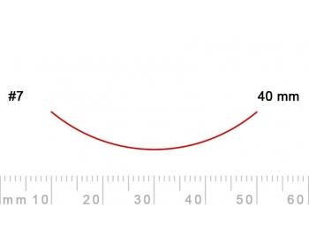 7/40-7/40, Pfeil, Gubia Recta corte 7, 40mm, curvada-1.