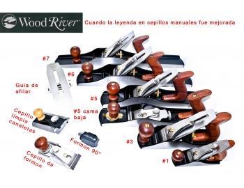150873-Cepillo 3 bedrock de alisar manual de carpinteria WoodRiver 150873-6.