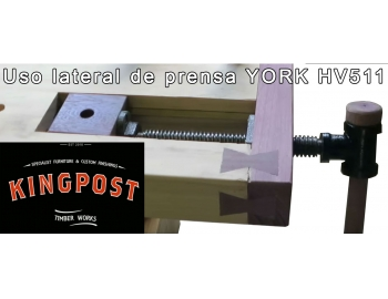 HV 511-Tornillo frontal en L de banco de carpintero York HV 511-4.