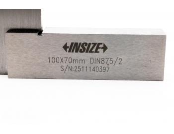 4707-100-Escuadra de ingenieros pelo con tope 100x70mm grado 2, INSIZE 4707-100-6.
