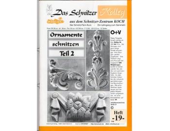 Koch_19-Revista KOCH 19 Tallar estilo ornamental Luis XV avanzado-1.