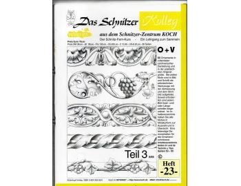 Koch_23-Revista KOCH 23 plantillas figuras ornamentales para muebles Luis XV-1.