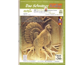 Koch_34-Revista KOCH 34 Aprende tallar aves alto relieve-1.