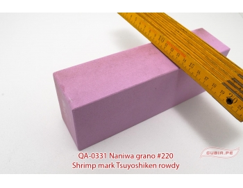 QA-0331-Piedra de afilar reparar filo 220 Tsuyoshiken Naniwa QA-0331-2.