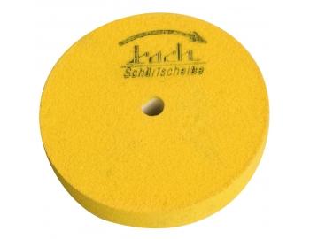 HT531-Disco amarillo dureza 8, asentar V gubia filo plano KOCH HT531-1.
