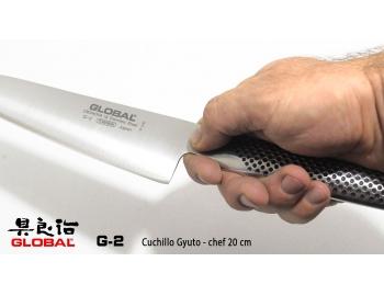 G-2-Cuchillo Gyuto 20 cm de chef  Global G-2-2.