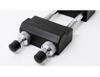 GUB0023-Base con 3 soportes para piedras de afilar con tuercas GUB0023-3.