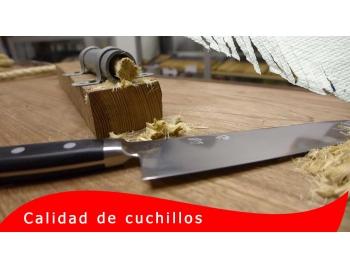 Maxima-Retencion-Mejores cuchillos de cocina x RETENCIÓN del FILO x Gubia PE-2.