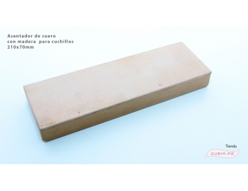GUB0033-Asentador de cuero  con madera GUB0033-1.