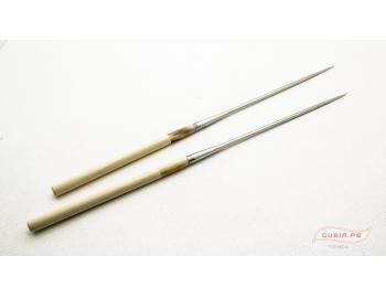 GUB0037-Palitos servir sushi Moribashi Chopsticks metal 21cm GUB0037-1.