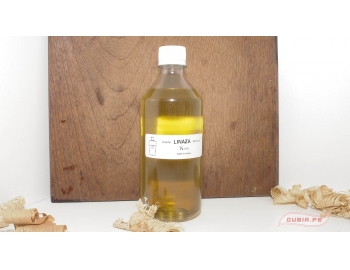 GUB0040-Aceite de Linaza 1/2 litro  acabado de madera GUB0040-1.