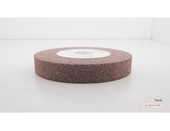 HT50231-Disco de esmeril 125x20mm grano 220 afilar-reparar gubias sin destemplar KOCH  HT50231-2.