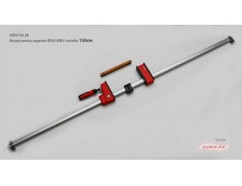 KREV150-2K-Sargento 150x9.5cm REVO variable 8kN Bessey KREV150-2K-1.