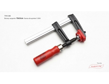 TPN10BE-Sargento 10x5cm fuerza 5.5kN Bessey TPN-BE10BE-1.