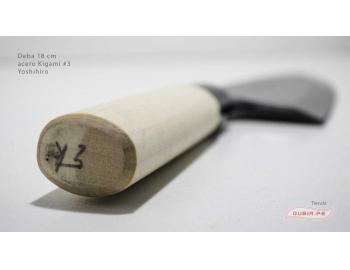d18k3-Cuchillo Deba 18cm acero Kigami #3 Yoshihiro d18k3-6.