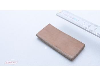 GUB0053-Cuero para sacar rebaba y perfilado de gubias 7x3cm GUB0053-1.