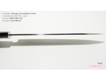 HZ-BJ-YSD-24-Yanagi 24cm +funda X90CrMoV18 RoseWood HZ-BJ-YSD-24-6.