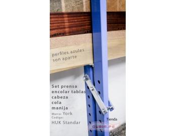 HUK Standard-Set prensa encolar tablas cabeza, cola y manija York HUK Standard-2.