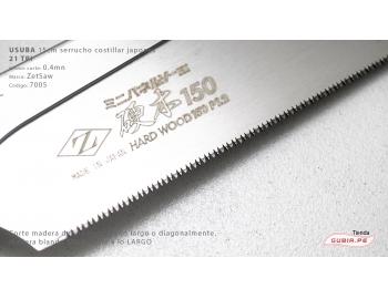 7105-Usuba madera dura 21TPI corte universal  15cm ZetSaaw 7105-4.