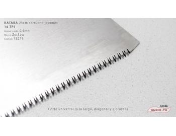 15271-Kataba 18TPI corte universal 25cm ZetSaw 15271-3.