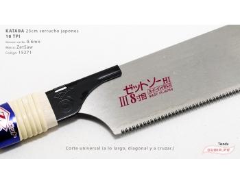15271-Kataba 18TPI corte universal 25cm ZetSaw 15271-1.