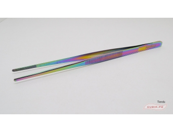 GUB0075-Pinza 20cm de colores recta para emplatado GUB0075-5.