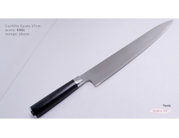 B1sG27-Cuchillo Gyuto 27cm acero 440C B1sG27-1.