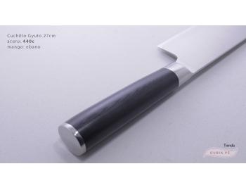 B1sG27-Cuchillo Gyuto 27cm acero 440C B1sG27-3.