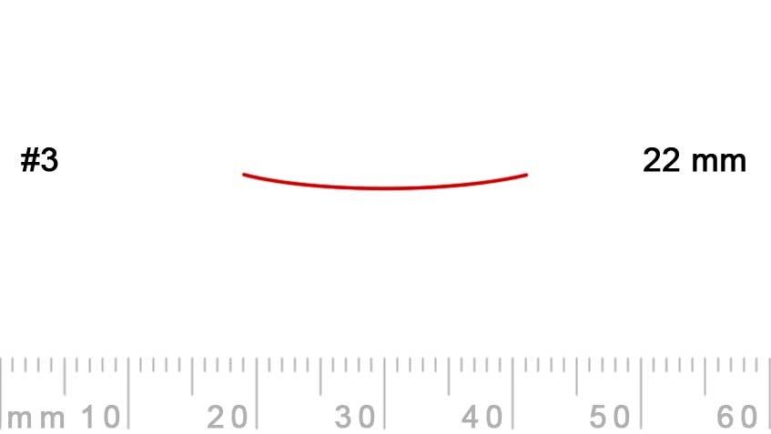 3/22-3/22, Pfeil, Gubia Recta corte 3, 22mm, semiplana-max-1.
