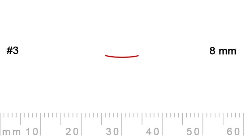 3/8-3/8, Pfeil, Gubia Recta corte 3, 8mm, semiplana-max-1.