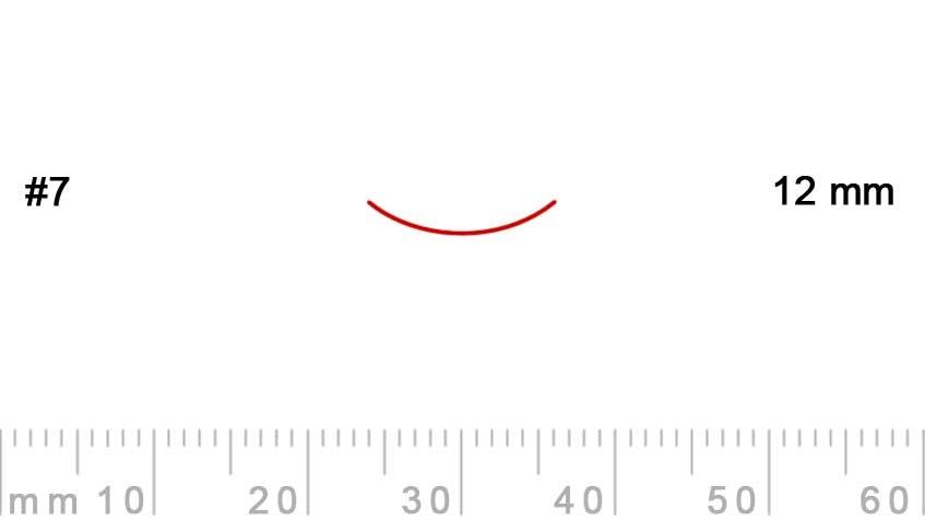 7/12-7/12, Pfeil, Gubia Recta corte 7, 12mm, curvada-max-1.