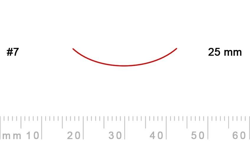 7/25-7/25, Pfeil, Gubia Recta corte 7, 25mm, curvada-max-1.