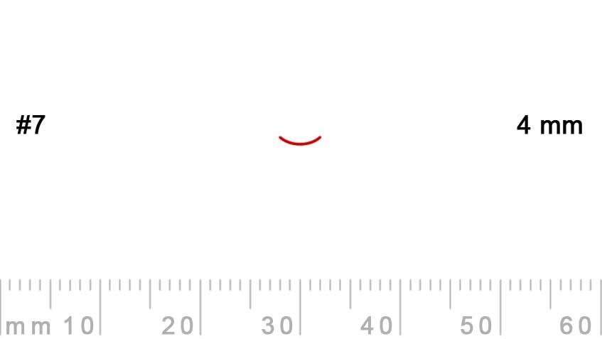 7/4-7/4, Pfeil, Gubia Recta corte 7, 4mm, curvada-max-1.