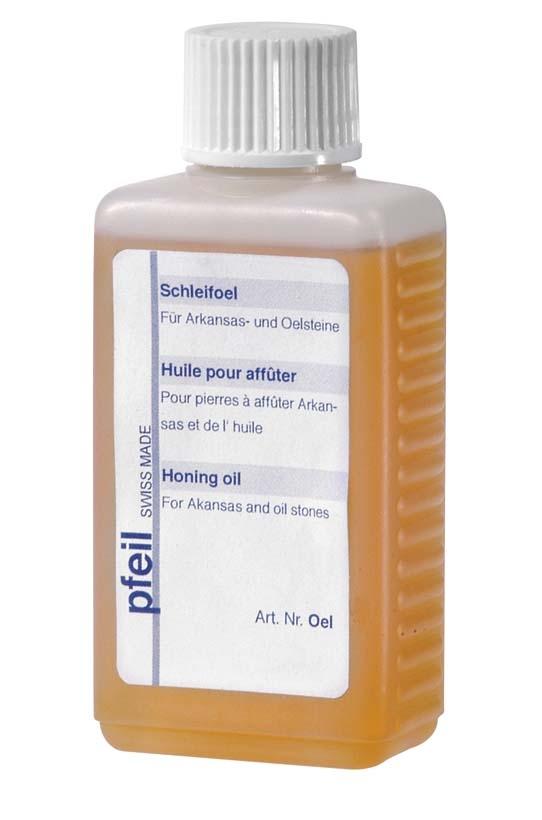 Oel-Pfeil Oel, 125ml aceite para piedras naturales arkansas-max-1.
