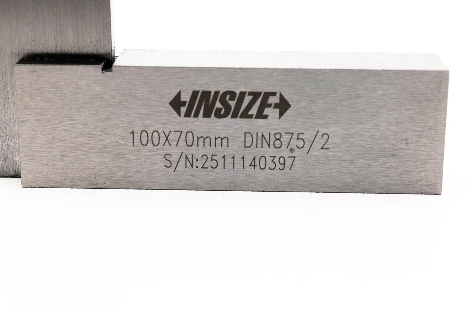4707-100-Escuadra de ingenieros pelo con tope 100x70mm grado 2, INSIZE 4707-100-max-6.