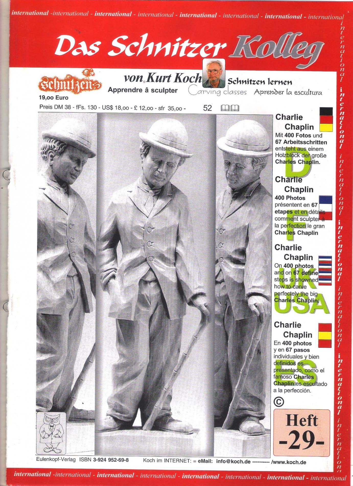 Koch_29-Revista KOCH 29 Aprende esculpir a comico Charlie Chaplin-max-1.