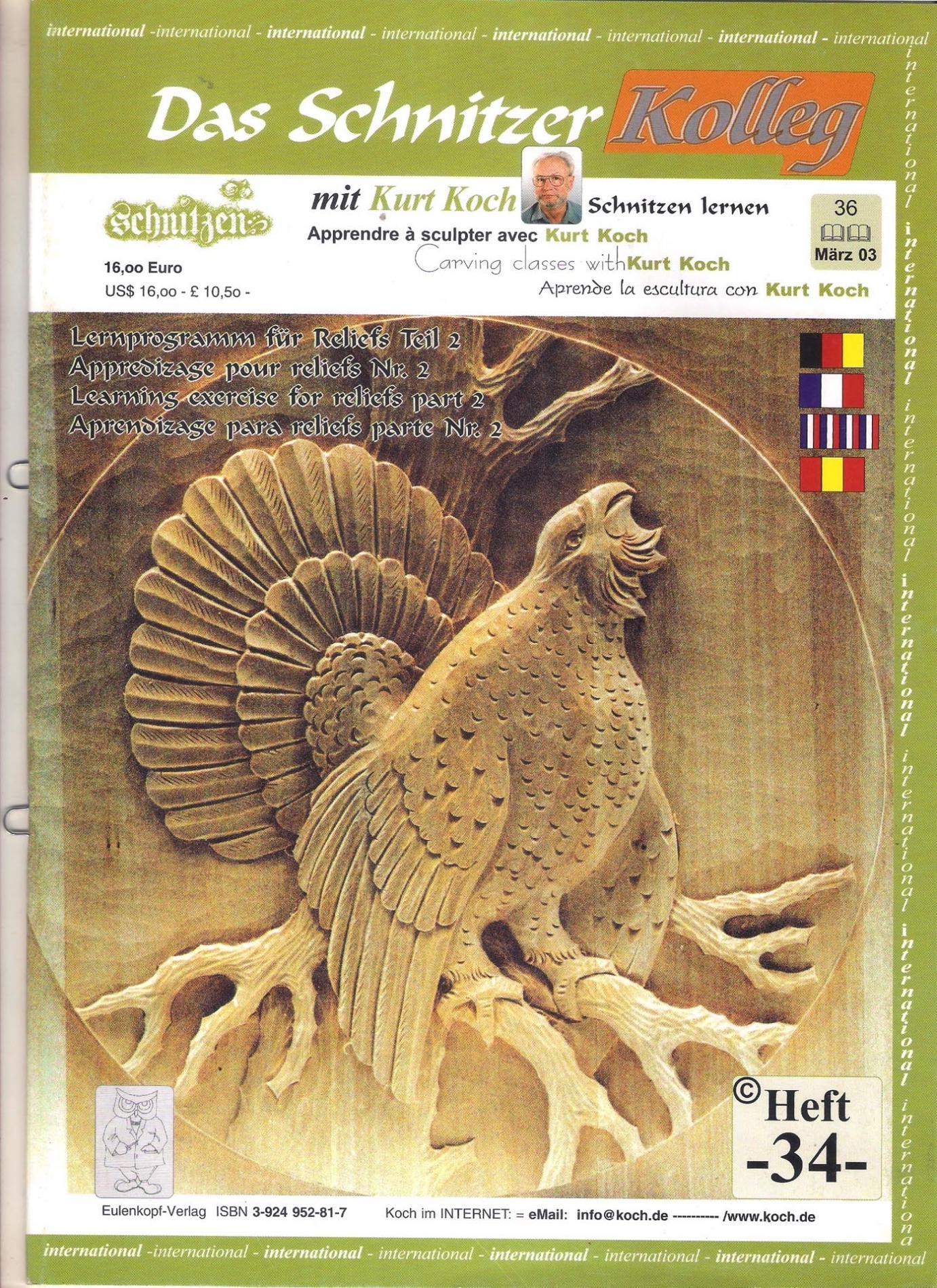 Koch_34-Revista KOCH 34 Aprende tallar aves alto relieve-max-1.