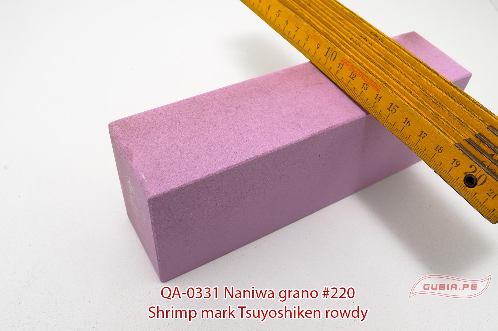 QA-0331-Piedra de afilar reparar filo 220 Tsuyoshiken Naniwa QA-0331-max-2.