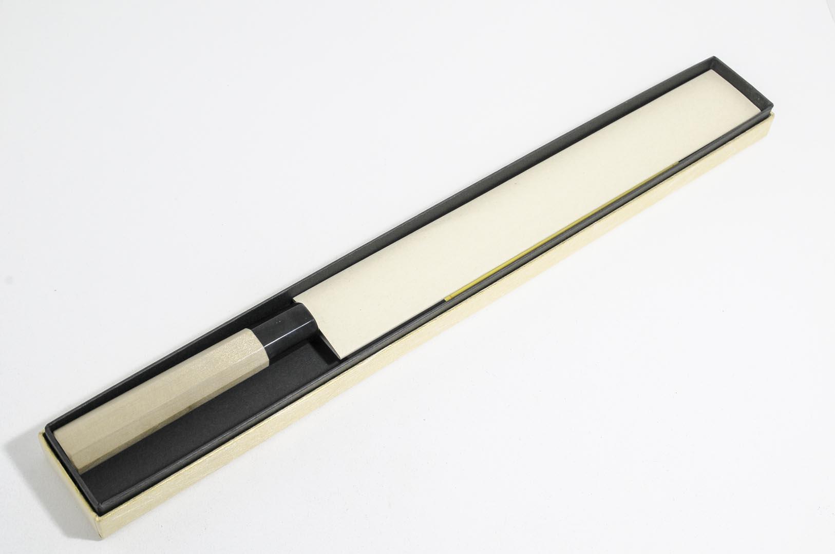 y27w2-Cuchillo Yanagi 27 cm acero Shirogami #2 Yoshihiro y27w2-max-6.