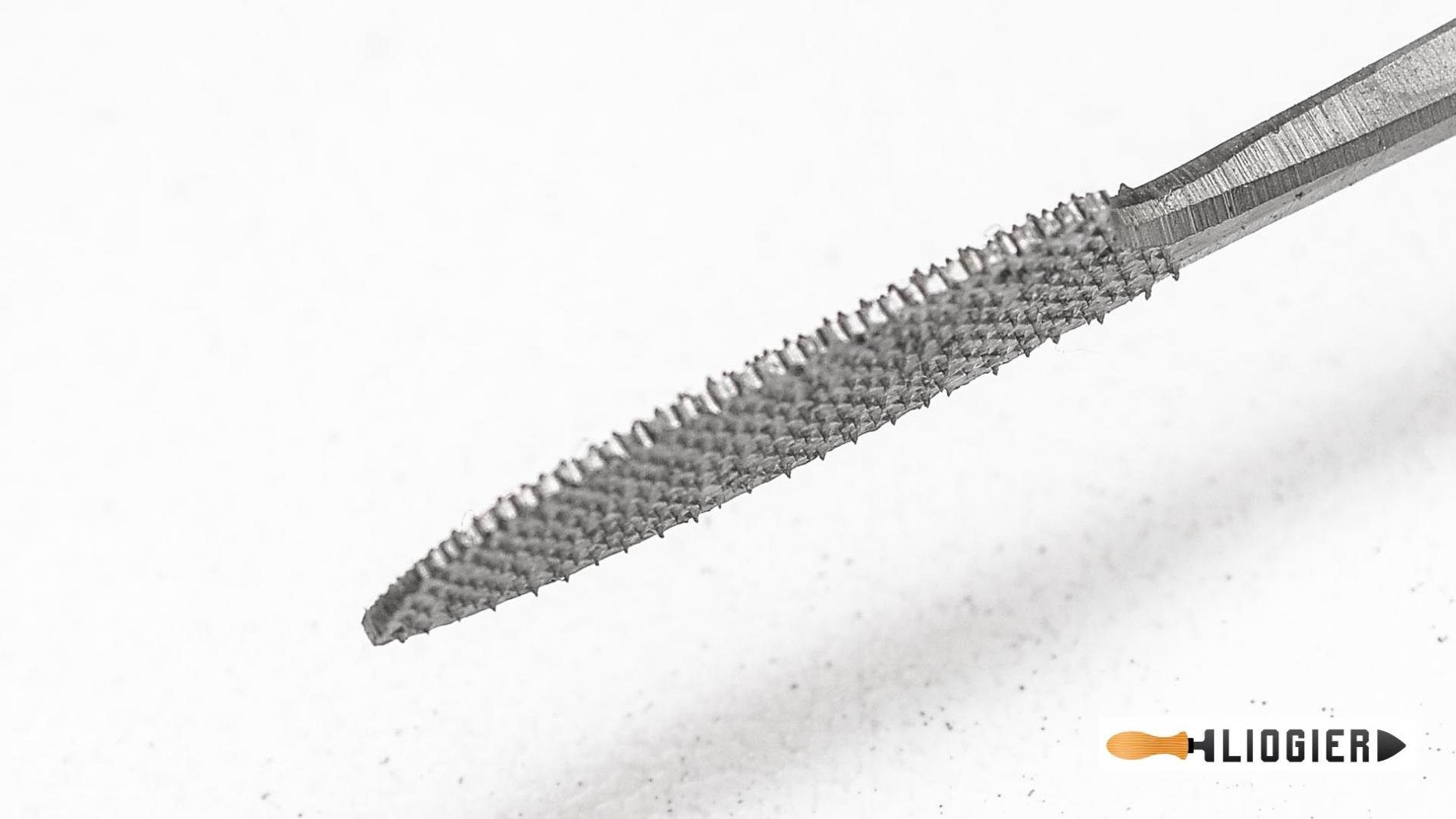 L150-1-15-Escofina de codillo 1 cuchara y cuchillo 150mm pique 15 Liogier L150-1-15-max-4.