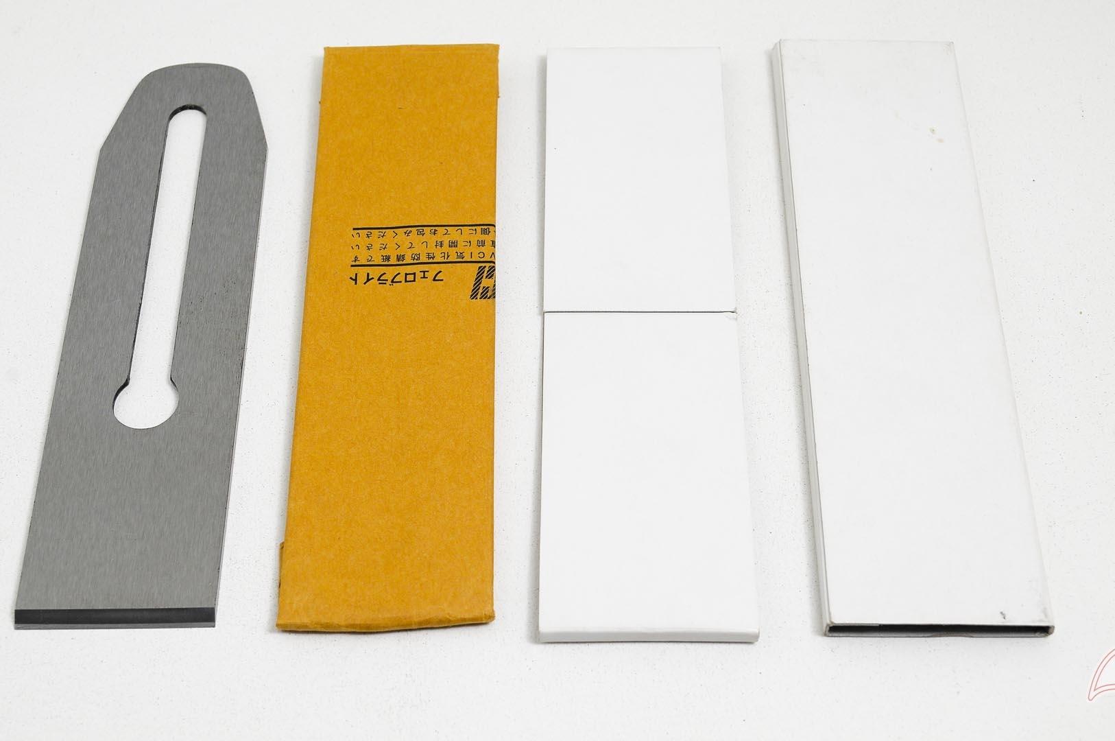 TsABS50-Cuchilla de cepillo #4, #5, 50mm acero laminado Aogami Blue Super TsABS50-max-3.