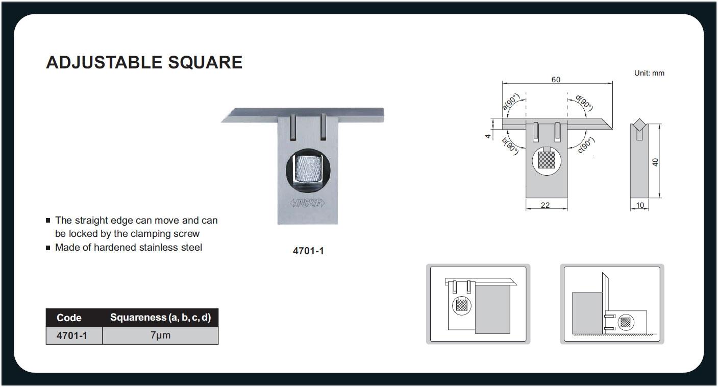 4701-01-Escuadrita ajustable y precisa medir angulo recto uniones caja 6x38 mm INSIZE 4701-01-max-3.